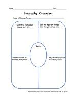 Biography Organizer