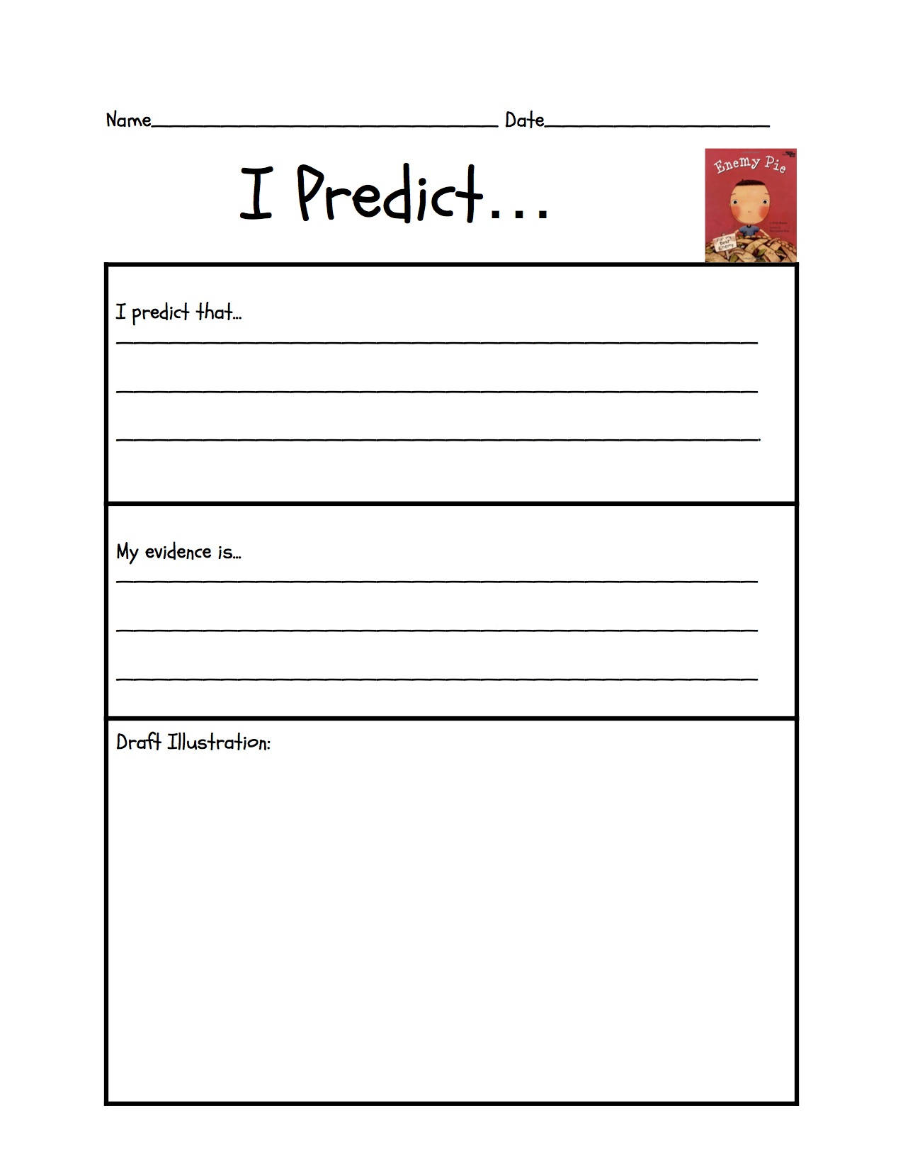 Worksheets Making Predictions Worksheets 3rd Grade predicting liquid literacy organizeripredict