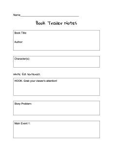 OrganizerBookTrailer