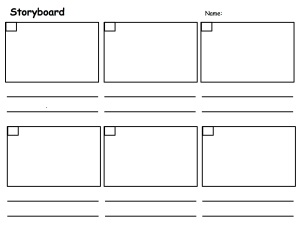 Template- Storyboard