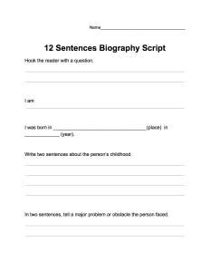 BiographyReportScript