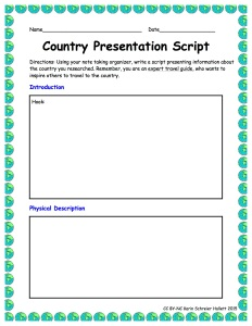 CountryPresentationScript