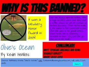 Eliana's Banned Book Poster