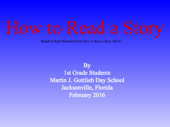 How to Read a Story Book.1